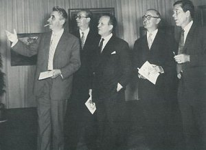 Cavailles, Legueult, Limouse, Oudot, Terechkovitch en 1957