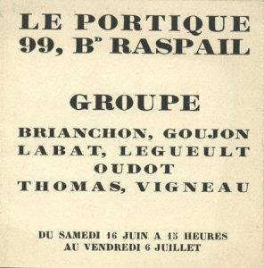 Le Portique 1928