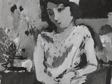 Jeune fille au bonnet blanc, ou femme au souci