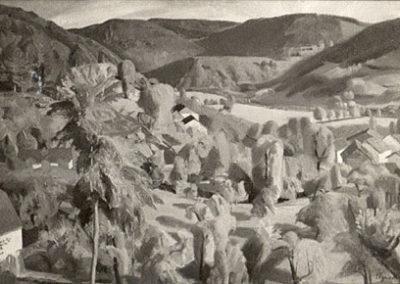 Grand paysage à Jougne