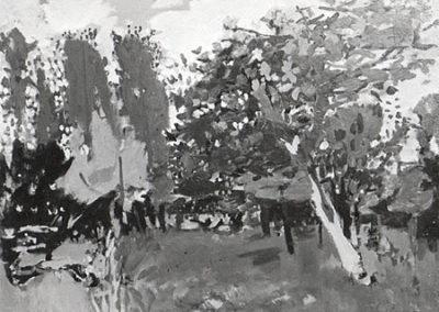 Le champ de pommiers