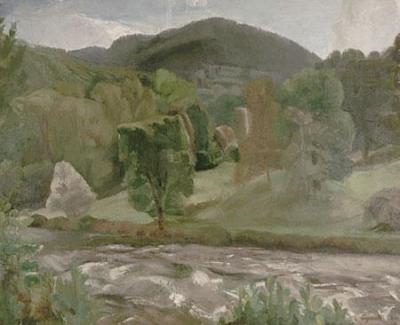 Le Doubs à Vaufrey