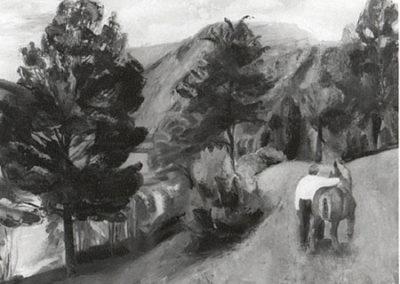 Paysan et son cheval