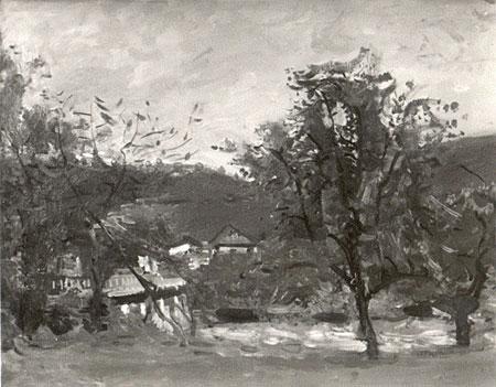 Vaufrey, Le village au fond du vallon