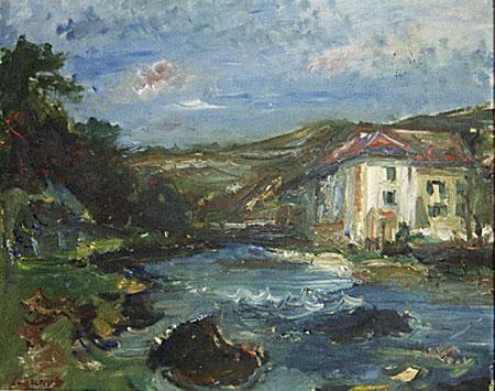 Vaufrey : maison au bord du Doubs