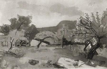 Les cerisiers à Vaufrey