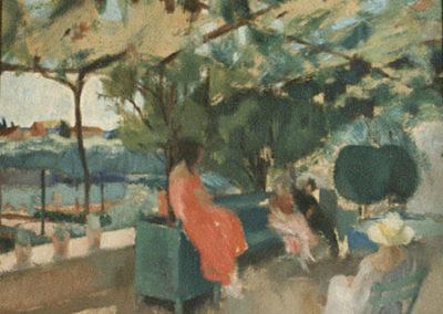 Suzanne Lalique au jardin