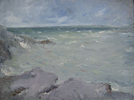 Mer grise à Saint Valéry