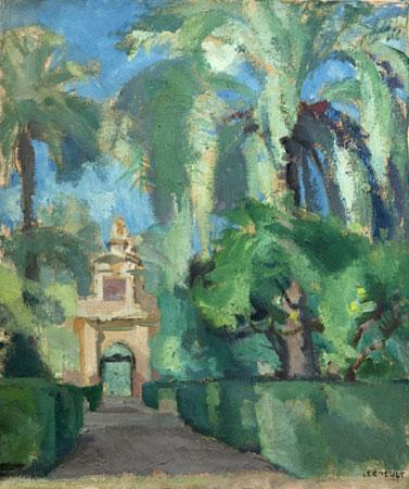 La porte rococo Espagne