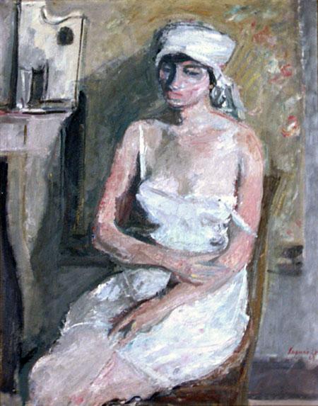 Noémie au foulard blanc