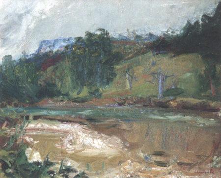 La rivière, ou la Loue