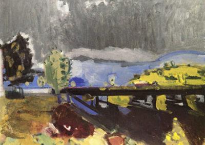Le pont sur le Doubs