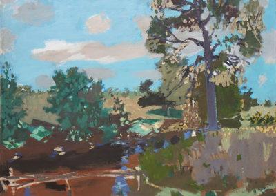 Paysage normand ou paysage à l'arbre