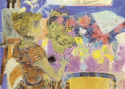 La table violette