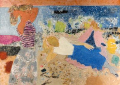 Femmes au bord de la mer