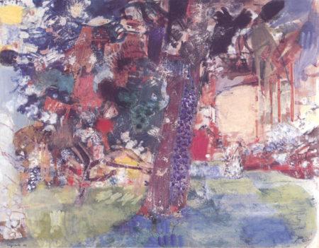 Le grand arbre aux Sorbiers