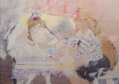 Emilienne et sa fille Anne