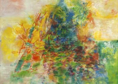 L'automne autour du cèdre bleu