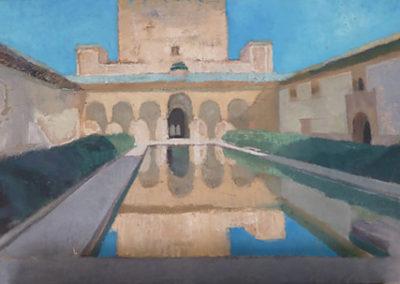 La cour des myrtes Alhambra-Grenade