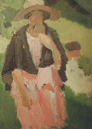 La robe rose à la cape noire