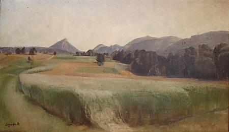 Paysage Vallée de Mouthier